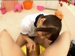 inanılmaz japon sürtük hitomi kitagawa azgın spor, iç çamaşırı jav film