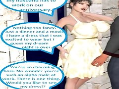 3D Comic Cuckold Wife Gets Dirty With Her Boss On Her Annive