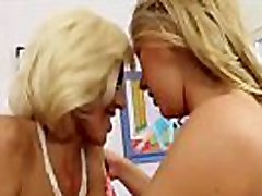 LesbianCums.com Lusty Mature Moms Friend Perverts Teenager - HD