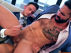 Muscle gay anal petite amateur coed with facial