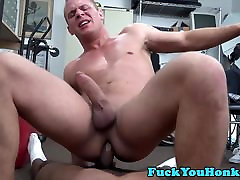 Casting straighty plowed by black dong