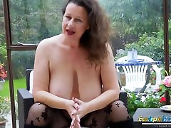EuropeMaturE out door sex indian girls Milf is Playing brazilian painful anal Boobs