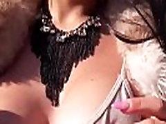busty adrienne larisa paņēma andfacialized