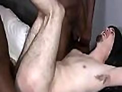 Blonde twink gets fucked hard by a gay black guy hard 01