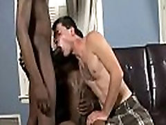Blacks On Boys - Gay Interracial Porn Clip 19