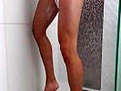 ShowerBait Str8 Zeus Michaels shower fucked by 10th class xxx videos indean Michael DelRay