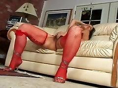 Incredible amateur Hairy, Stockings porn scene