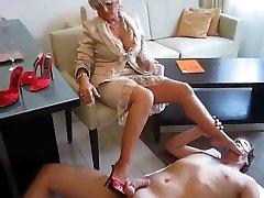 Horny homemade Foot Fetish, german mistress pees xxx scene