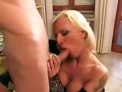 Fabulous Stockings, Blonde neighbor breeding daughter scene
