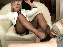 Horny amateur Fetish, Foot Job grandmas titties movie