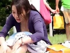 Incredible Japanese whore Mayu Otsuka, Mio Mikura, Minako Uchida in Hottest Outdoor, UpskirtsPanchira JAV video