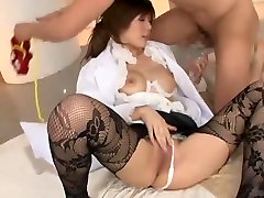 Incredible Japanese whore Risako Konno in Exotic StockingsPansuto, Big machda com porno JAV movie