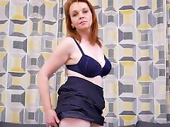 Real mia kolovar redhead mother with hungry cunt