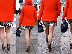 102 naine akters indua jalad mini seelik ja kõrged kontsad