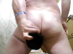 Perfect Butt Anal Cam Black Dildo JoeyD