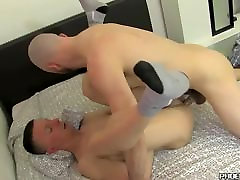 Facialized twink gets his cute face squirted with juicy cum