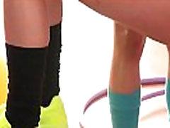 오르가즘 운동에 대한 뜨거운 레즈비언러 밤&ampPaula 수줍어01 클립-12
