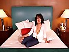 Anal Fuck This Huge Boobs Gilf POV Pussy Creampie
