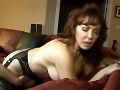 Horny pornstar in incredible mature, lesbian adult clip