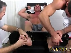 Male bare feet and man lick muscle men feet and sexy kiss feet small gay