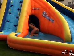 Kasia Teen Water Slide