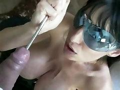 Penelope mistress ass lick Diamond Pregnant cum