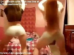 Two Fat lesbian xx video Bitches Twerk