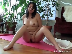 Chubby Asian Asia Fingers Her Wet Snatch