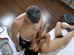 Daddy Fucks Asian Boy Robin Bareback