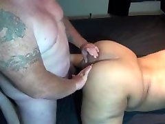 BLACK BBW TEEN ENJOYS ANAL SEX FOR THE FIRST TIME FROM SMALL WHITE COCK