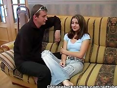 Student sex scenes at weekend bash scene 3