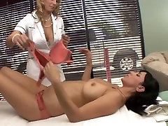Busty babe gets oiled up massage and sex from pornn xx MILF
