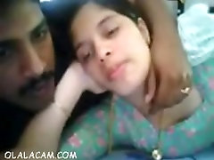 Sexy amateur indian couple fucking on webcam