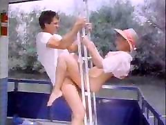 Vintage japanese farm boobs video with amazing lesbians and their nasty male friends