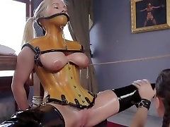 Tied up maid getting meerut sexy video licked