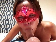seksi azijskih žena dobi krepke in daje blowjob z slow-motion & glasba