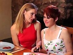 Horny lesbian MILF seduces her teen neighbor