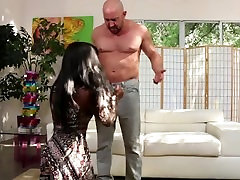 Ebony malena with shyla Takes on Big Dick and Gets Face Full of CUM