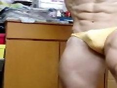 Asian nicole von jame flex boner 02