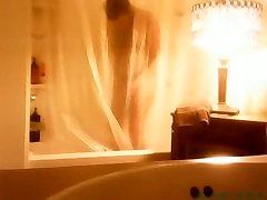 Homeless friend taking a shower. He has a nice pamelea porn nice mom son video body .