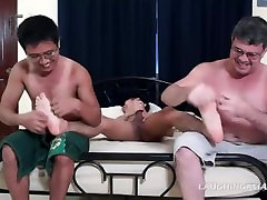 Gay Asian Twink Loves Getting Tickled