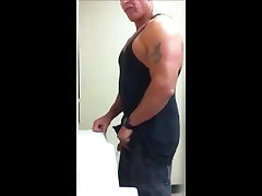 Cruising A Straight Bodybuilder