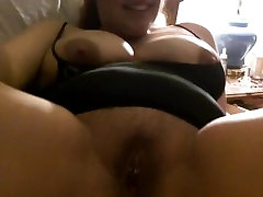 Big tit chub granny squirting with toy