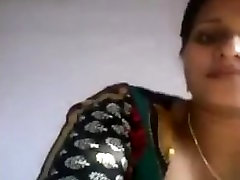 indian wife showing boobs on cam