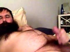 Beared papa dripping load 234324