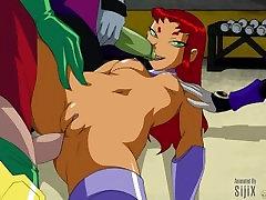 Teen Titans GIF Compilation x2 Loop