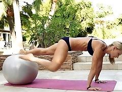 Game Over Girls: tit biting Motivation Exercise Inspiration Scene Overlay