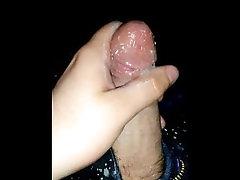 Classic lotion cumshot