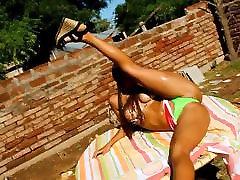 Perfect Ass Latina! Breasts, Cameltoe! OMG!
