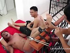 Asian Twink Jack Gets Tickled